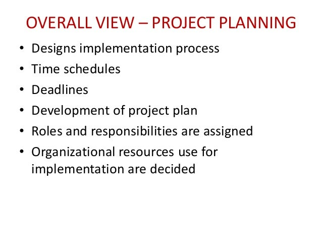 erp implementation project plan example