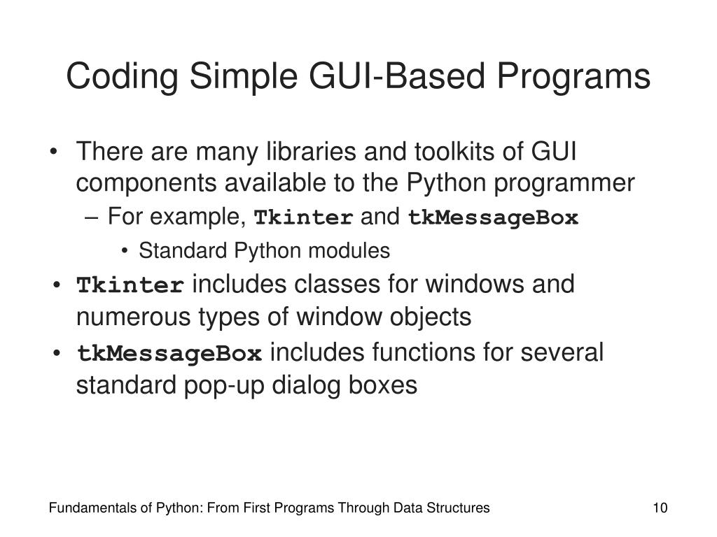 example programs on data structures using python