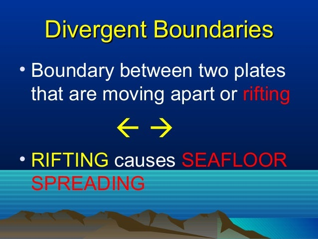 divergent plate boundary real world example