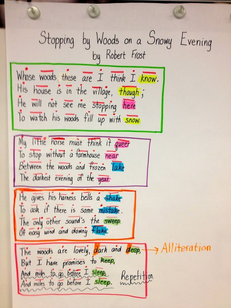 what is an example of repetition