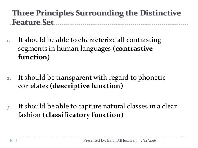 which of the following is an example of phonology