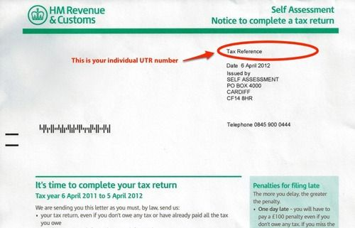 example of a tax file number